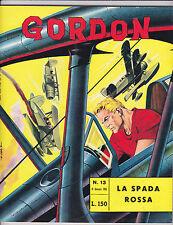 "Gordon No 13-1965-Italian- ""The Red Swords / Dog Fight Cover! """