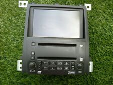 2005-2007 CADILLAC STS AM/FM 6CD CHANGER DVD NAVIGATION LCD SCREEN OEM SEE PHOTO