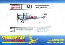 Choroszy Models 1/72 KAWASAKI SALMSON ARMY TYPE OTSU-1 Japanese Scout