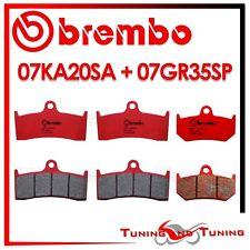 PASTILLAS BREMBO DELANTERO SA + TRASERO SP MV AGUSTA BRUTALE 910 S 2006 2007 07