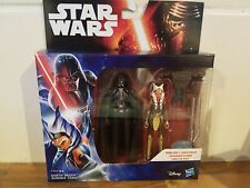 Star Wars Rebels Darth Vader And Ahsoka Tano Action Figure Double Pack