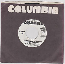 TOMMY CONWELL & THE YOUNG RUMBLERS - IF WE NEVER MEET - 45 RPM - 1988 - DJ COPY.
