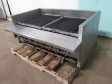 """IMPERIAL"" HEAVY DUTY COMMERCIAL NATURAL GAS 8 BURNERS 48""W RADIANT CHARBROILER"