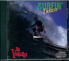 The Ventures-Surfin 'DELUXE CD Japon cp35-3085 black triangle OBI