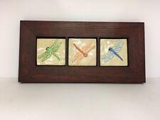 Fay Jones Day Dragonfly Art Tiles Framed Arts Crafts Mission Style Oak Park