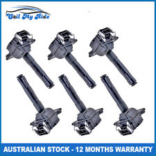 6 x Ignition Coil for Audi Allroad Quattro RS4 S4 2.7L Twin Turbo 6 Cyl. Engine