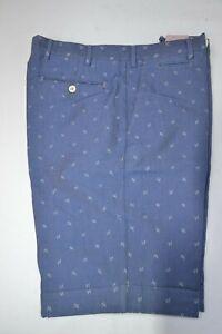 ISAIA IMPERFECT bermudas shorts logos cotton pink yellow blue beige turquoise