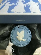 "Wedgwood ""Dove"" Ornament ~ 2nd In The 12 Days Series ~ Blue Jasper ~ Mint In Box"