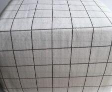 Flannel Sheet Set King Size 4Pc Bedding 100% Cotton Deep Pocket Soft White Gray
