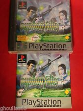SYPHON FILTER 2 PLAYSTATION 1 SYPHON FILTER II PS1 PS2 PS3