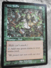 Tarjeta Magic the Gathering Deck Master vine trellis 1 creature Wall