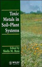 Toxic Metals in Soil-Plant Systems-ExLibrary