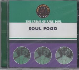 """Cream Of Northern Soul """"Soul Food"""" Various Artists NEW & SEALED CD - 18 Tracks"""