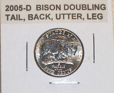 2005-D BISON DOUBLING TAIL, BACK, UTTER, LEG  ERROR !