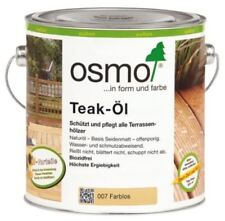 Osmo Teak Öl 007 Farblos 2,5 L