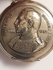 """Taschenuhr """"Wilhelm II Deutscher Kaiser"""" 1888 ~1913 - Selten"""