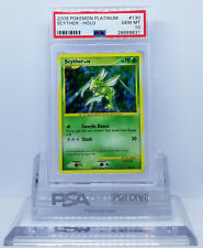 Pokemon PLATINUM SCYTHER #130 SECRET RARE HOLO JUNGLE REPRINT PSA 10 GEM MINT #*