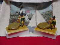 2 Sebastian Miniatures SMITH'S The Original America's Home Town  Signed By Woody