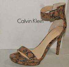 3d3ee1075662 Calvin Klein Animal Print Leather Women s Shoes