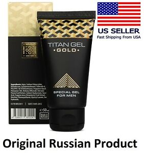 Titan Gel GOLD for Men, Original Product from RUSSIA