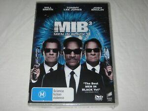 Men In Black 3 - Will Smith - Brand New & Sealed - Region 4 - DVD
