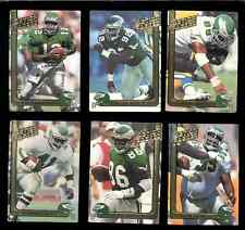 1990-92 AP Philadelphia Eagles Set REGGIE WHITE CRIS CARTER RANDALL CUNNINGHAM