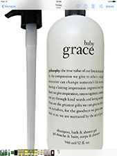 Fab PHILOSOPHY BABY GRACE Shampoo Bath & Shower Gel ~ Supersize 946ml -  New