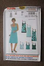 Burda Sewing Pattern Misses Dress and Camisole Size 10-12-14-16-18-20