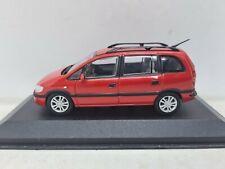Minichamps Opel Zafira 1999. Red 1:43