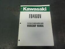 Kawasaki Fb460v 4 Stroke Air Cooled Gasoline Engine Workshop Manual 99924 2011