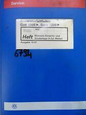 Werkstattbuch Reparaturleitfaden VW Golf Bora Motronic Einspritz Zündanlage#6794