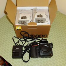 Nikon D800 36.3MP Digital SLR DSLR Camera (Body Only)