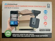 Momentum Universal WI-FI Garage Door Controller With Camera NEW SEALED
