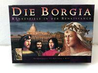 Die Borgia von Phalanx unpunched Brettspiel Gesellschafts Familien