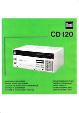 Minolta Instrucciones para Dual CD 120