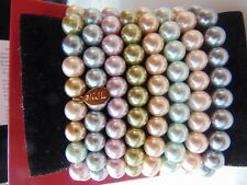 KJL Simulated Multicolor Eight Pearl Bracelets
