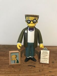 2000 Playmates WOS The Simpsons - Smithers Interactive Figure