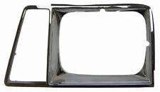 1982-83 Chevrolet Cavalier Left LH Headlight Bezel Chrome New GM07028 14058595