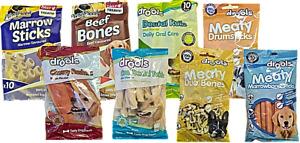 x2 Pack Tasty Puppy / Dog Treats / Dental Care / Training / Chewy Bones / Sticks