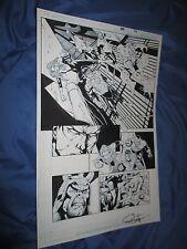 GREEN LANTERN #29 Original Art Page #14 ~Billy Tan/Rob Hunter JLA/MOVIE Comic Art