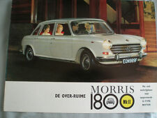 Morris 1800 MK II range brochure c1968 Dutch text