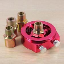 Universal Oil/Temp Gauge Filter Sandwich Adapter Plate 1/8 NPT Sender Sensor