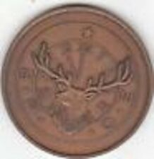 1975 Concordia Kansas KS Elks Lodge No. 586 75th Anniversary Medal Token
