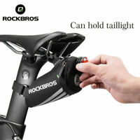 ROCKBROS Bicycle Saddle Bag Waterproof Road Bike MTB Cycling Rear Seat Tail Pack