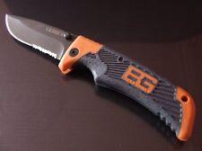 Couteau de Survie Gerber Bear Grylls Clip Point acier 7Cr17MoV Ser Scout G0754