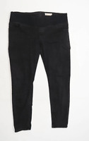 Womens Asos Black Denim Jeggings Size 16/L27