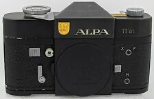 ALPA 11el Film Camera body (Black) #59353 ** Rare **