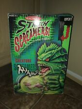 Toyquest - Electronic Stretch Screamers - Creepy Creature With Original Box RARE