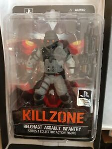 DC Killzone Series 1 Helghast Assault Infantry Figure (Read Description)