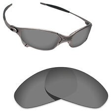 Hawkry Polarized Replacement Lenses for-Oakley Juliet Sunglass Sport Black
